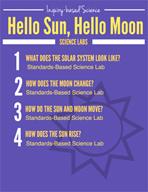 Hello Sun, Hello Moon Inquiry Science Labs