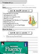 High Frequency Word Phrases Level 1 - Pitch