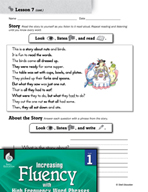 High Frequency Word Phrases Level 1 - Rhyming Sounds
