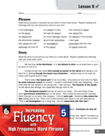 High Frequency Word Phrases Level 5 - Preparing Listeners