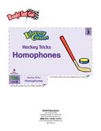 Homophones - Hockey Tricks Literacy Center