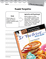 If You Give . . . Series Guide Reader Response Writing Pro