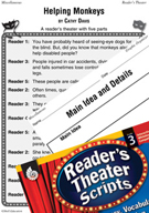 Individual Differences - Helping Monkeys Reader's Theater