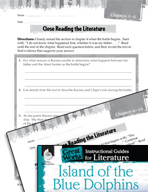 Island of the Blue Dolphins Close Reading and Text-Depende