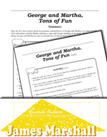 James Marshall Literature Activities - George and Martha,