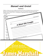 James Marshall Literature Activities - Hansel and Gretel