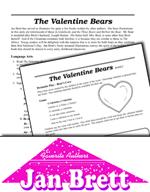 Jan Brett Literature Activities - The Valentine Bears