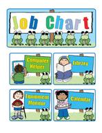 Job Chart by Karen's Kids