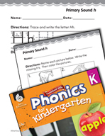 Kindergarten Foundational Phonics Skills: Primary Sound h