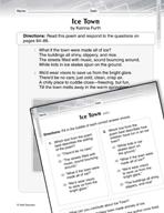 Language Arts Test Preparation Level 2 - Ice Town (Practic