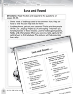 Language Arts Test Preparation Level 2 - Lost and Found (P