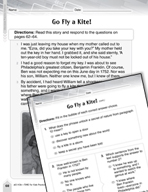 Language Arts Test Preparation Level 3 - Go Fly a Kite! (P