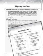 Language Arts Test Preparation Level 4 - Lighting the Way