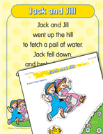 "Learning Center Activities for ""Jack and Jill"""