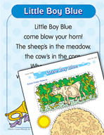 """Learning Center Activities for """"Little Boy Blue"""""""