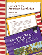 Leveled Texts: Causes of the American Revolution