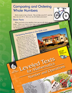 Leveled Texts: Comparing and Ordering Whole Numbers