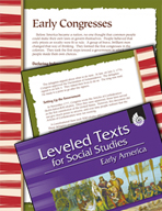Leveled Texts: Early Congresses