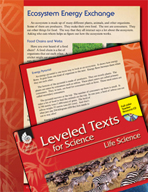 Leveled Texts: Ecosystem Energy Exchange
