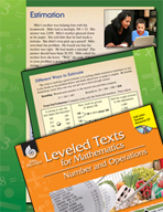 Leveled Texts: Estimation