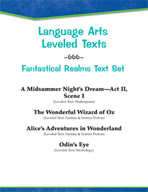 Leveled Texts - Fantastical Realms Text Set
