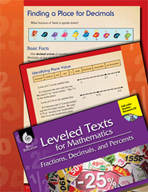 Leveled Texts: Finding a Place for Decimals on a Number Line