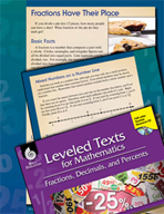 Leveled Texts: Fractions Have Their Place on a Number Line