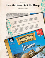 Leveled Texts: How the Camel Got His Hump