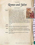 Leveled Texts Shakespeare - Romeo and Juliet - Act II, Scene II