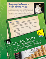 Leveled Texts: Subtraction Equations-Keeping the Balance W