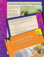 Leveled Texts: Understanding Order of Operations
