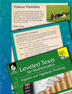 Leveled Texts: Various Variables