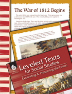 Leveled Texts: War of 1812 Begins