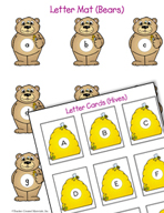 Literacy Activities to Practice Matching Uppercase and Low