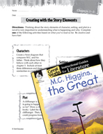 M.C. Higgins, the Great Studying the Story Elements (Great