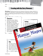 Maniac Magee Studying the Story Elements (Great Works Series)