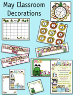 May Classroom Decorations by Karen's Kids