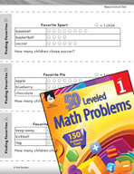 Measurement and Data Leveled Problem: Picture Graphs - Fin