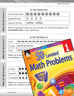 Measurement and Data Leveled Problem: Picture Graphs - Wha