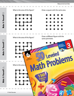 Measurement and Data Leveled Problems: Perimeter and Area