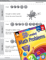 Measurement and Data Leveled Problems: Using Coins to Buy Things