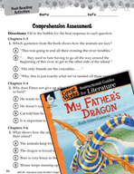 My Father's Dragon Comprehension Assessment (Great Works Series)