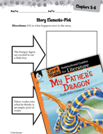 My Father's Dragon Studying the Story Elements (Great Work