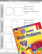 Number Sense Leveled Problem: Draw and Count