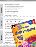 Number and Operations in Base Ten Leveled Problems: Comple