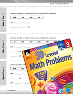 Number and Operations in Base Ten Leveled Problems: Multi-