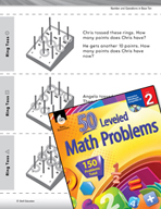Number and Operations in Base Ten Leveled Problems: Using