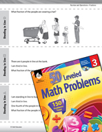 Number and Operations in Base Ten Leveled Problems: Word Problems