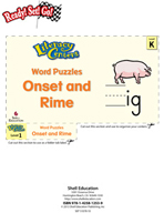 Onset and Rime - Word Puzzles Literacy Center