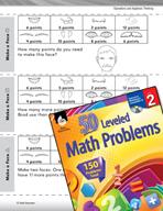 Operations and Algebraic Thinking Leveled Problems: Additi